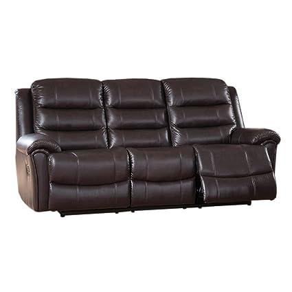 Amazon.com: Coja por sofa4life Cantay Cantal sofá de piel ...