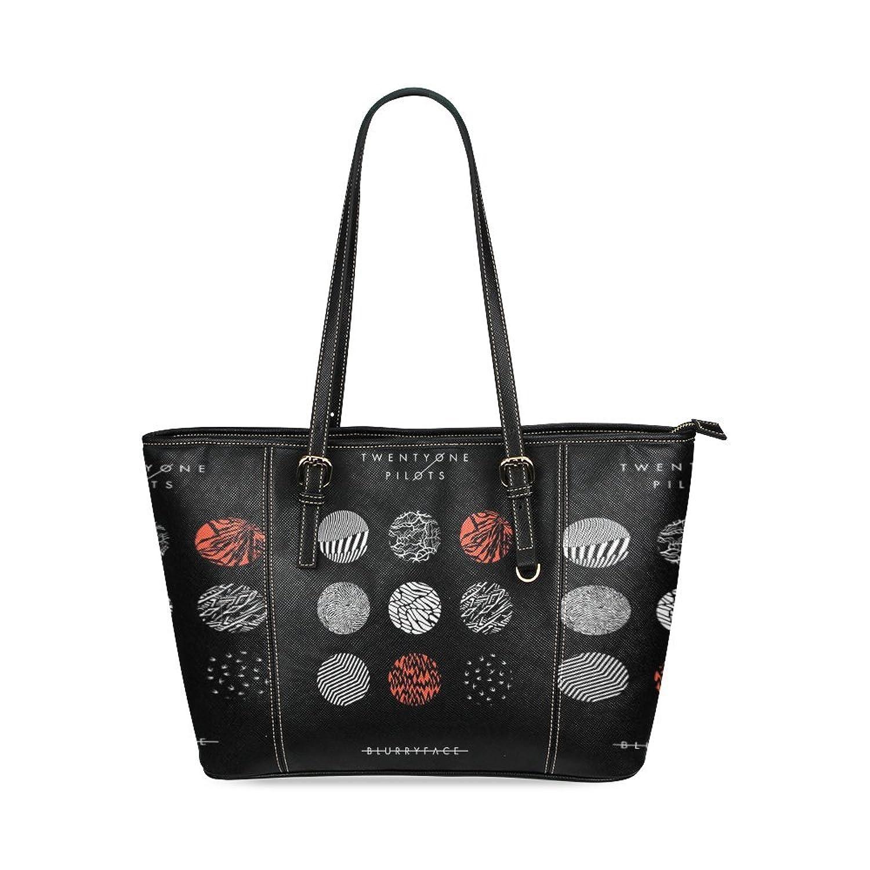 Twenty one pilots Custom Leather Tote Bag/Handbag/Shoulder/travel Bag for Women Girls