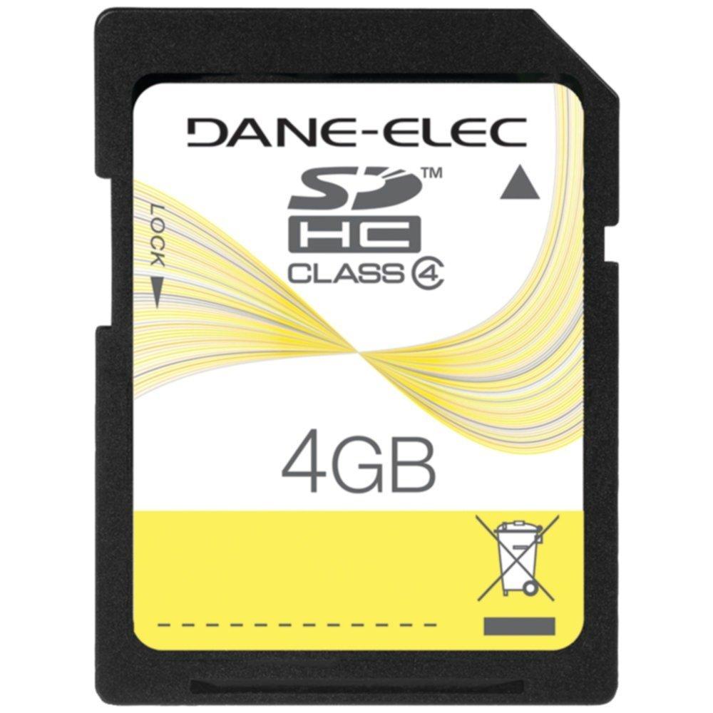 Dane Elec da-sd-4096-r 4 GB SDメモリカードクラス4カメラアクセサリー B01AIQ922M
