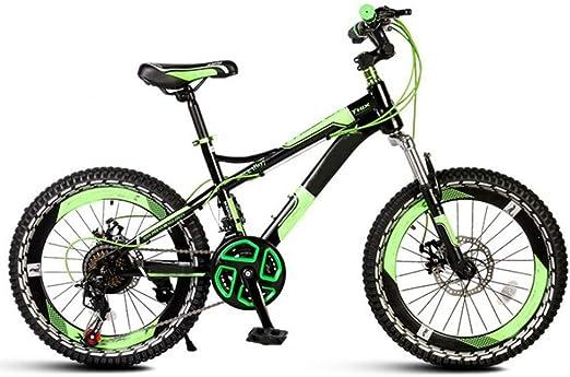 YUMEIGE Bicicletas Frame 18/20 pulgadas bicicletas acero de alto carbono, la bici del deporte de