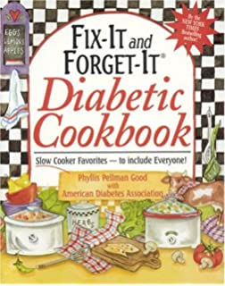 Recipes for diabetics revised and updated billie little selvyn b fit it and forget it diabetic cookbook slow cooker favorites to include forumfinder Choice Image