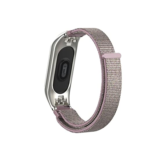 ☀️Modaworld Correa de Deporte de Banda de Repuesto Ajustable de Nylon Pulsera de Reemplazo para XIAOMI MI Band 3 Bracelet Correas de Reloj Inteligente ...