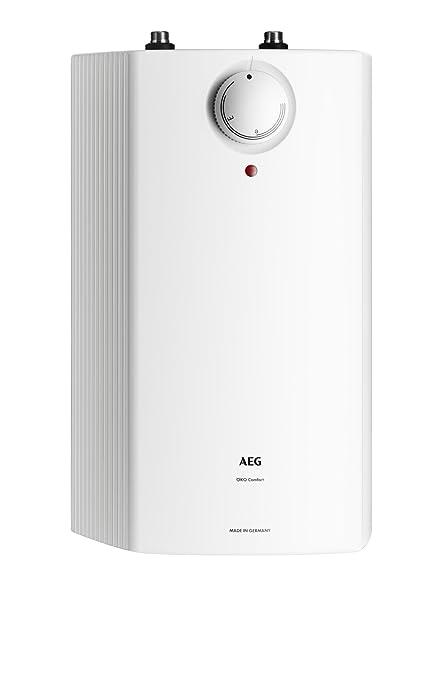 AEG 222164 Huz 5 ÖKO Comfort - Calentador de sistema abierto (tamaño pequeño, 5