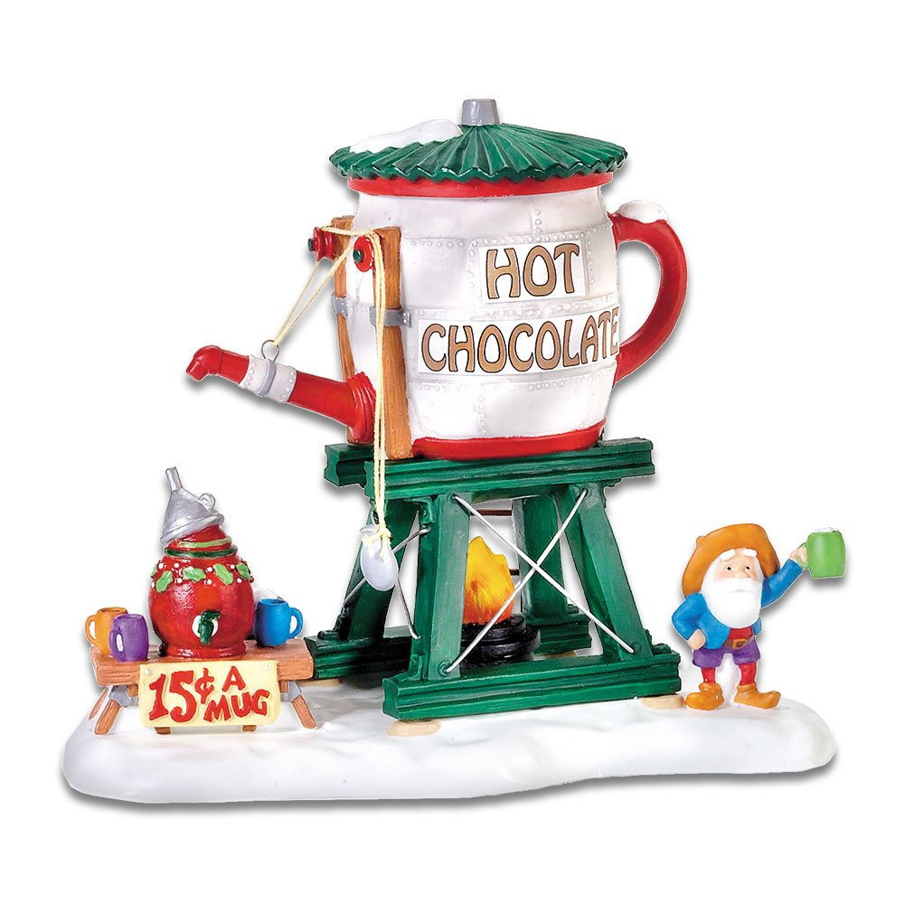 Department 56 North Pole Village Hot Chocolate Tower Accessory Figurine 56.56872
