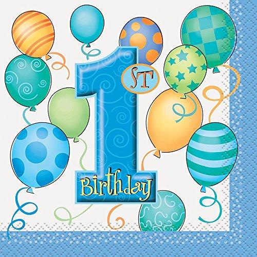 1st Birthday Napkins - 9