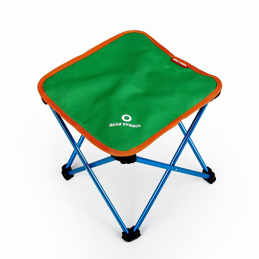 Folding Portable Camping Stool,Outdoor Lightweight Widen Thick Cloth Chair For BBQ Camping Fishing Travel Hiking Garden Beach Oxford Cloth With Aluminium by TZ TED