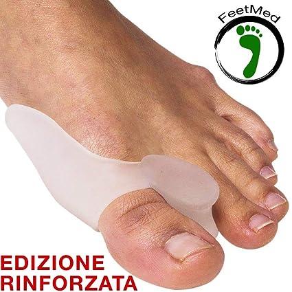 Corrector de Juanetes - FeetMed - 2 Piezas de Separador para Dedos Pies y para Hallux Valgus - Correctores ...