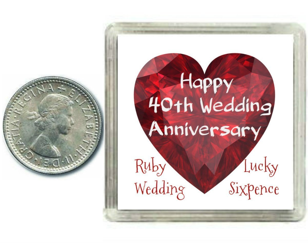 What Gift For 40th Wedding Anniversary: Ruby Wedding Anniversary Gifts Mum And Dad