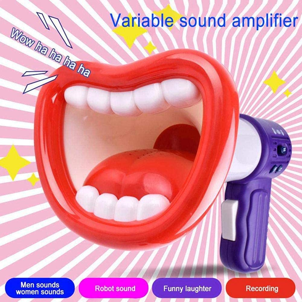 Funny Kids Voice Changer Toy Recording Microphone Toys,Megaphone Function Multi Voice Changer with Different Voice Modifiers for Boys and Girls Parties Funny Toy