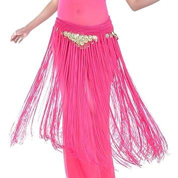 Wgwioo Dance accessories Vientre Baile Mujer Bufanda de Cadera ...