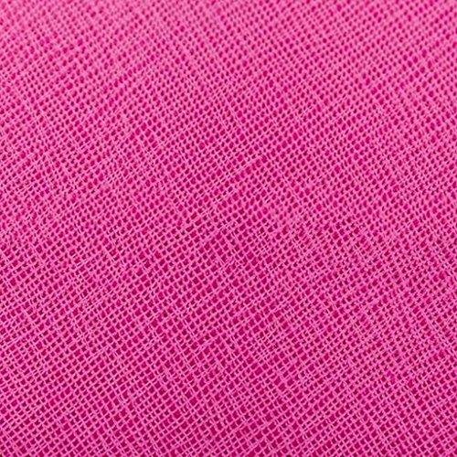 Femme Portefeuille en Rouge Pochette Pochette Rouge Portefeuille Portefeuille Générique Couleur Cuir Sac Rose Dames modèle 11cm 2 féminin Rose Portefeuille Mode Taille Cross 21 Xw5ggxY