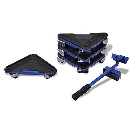 Transporte de muebles levantador y set de ruedas