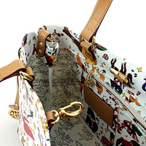 Handbag Magic Circus BIANCO