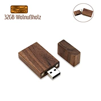 32GB USB Stick Holz JBOS Hölzern Flash Speicherstick USB2.0 Schnellen  Geschwindigkeit USB Flash Drive Wood USB-Flash-Laufwerk als  Geschäftsgeschenk ...