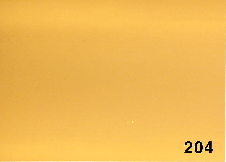 Longitud: 120 cm para luces LED Filtro corrector CTO 204 fuerte cortado en franjas