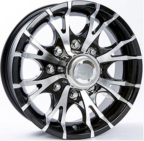 8 lug 16 inch black rims - 5