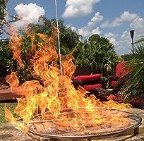"FR18ITCK+ IN-TABLE DIY GAS FIRE PIT KIT /& 18/"" LIFETIME WARRANTED 316 BURNER"