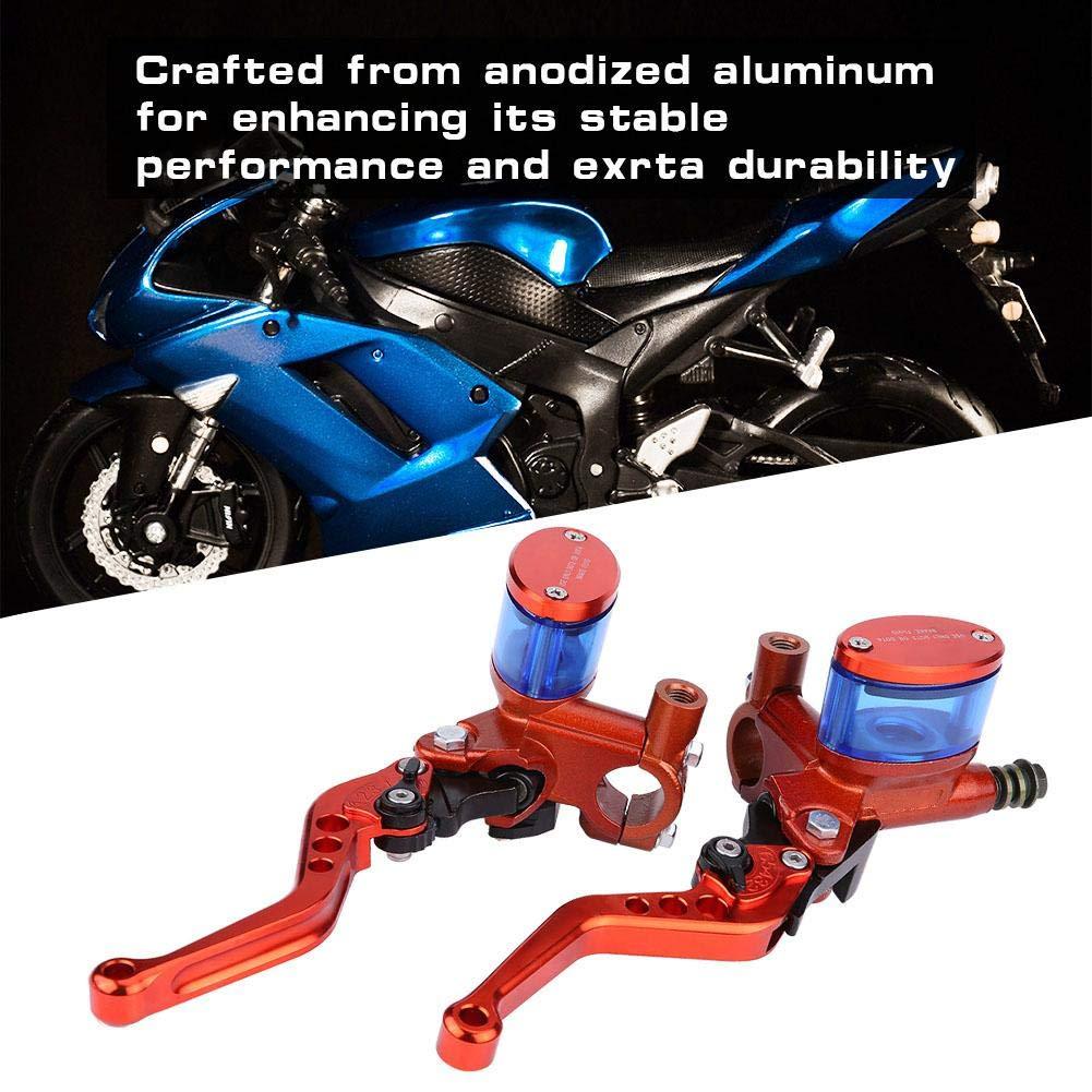 Orange Qiilu QL06164 1 Paio di Pompa freno Refit idraulico Manubrio Cilindro del freno Master per Dirt Pit Bike ATV