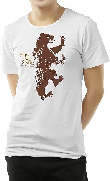 Camiseta Hombre - Unisex Serie Televisión Juego de Tronos - Game of Thrones, Mormont: Amazon.es: Ropa y accesorios