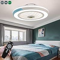 Ventilador De Techo 60W LED Lámpara Creative Regulable Ventilador De Techo…