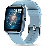 Smartwatch Pulsera Inteligente, Fullmosa Reloj Inteliente Mujer S3, Rastreador de Actividad Física con Monitor de Frecuencia