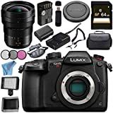 Panasonic Lumix DC-GH5S Mirrorless Micro Four Thirds Digital Camera Leica DG Vario-Elmarit 8-18mm f/2.8-4 ASPH. Lens Bundle