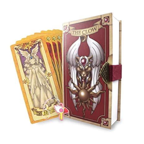 Novelty & Special Use Cardcaptor Sakura Card Cosplay Card Captor Kinomoto Tarot Book With Clow Cards Magic Book Set In Box Prop Gift Phone Chain Costumes & Accessories