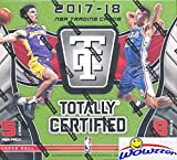 2017/18 Panini Totally Certified NBA Basketball Factory Sealed HOBBY Box with AUTOGRAPH & MEMORABLIA Card! Look for Rookies & Autographs of Donovan Mitchell, Jayson Tatum, Kyle Kuzma & More! WOWZZER!