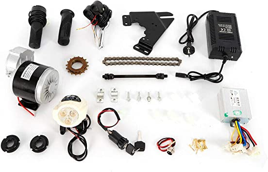 WUPYI2018 - Kit de conversión para Bicicleta eléctrica, 350 W, 24 V ...