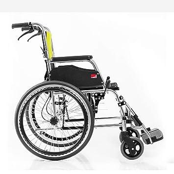 Aluminio ligeros en silla de ruedas, promover la silla de ...