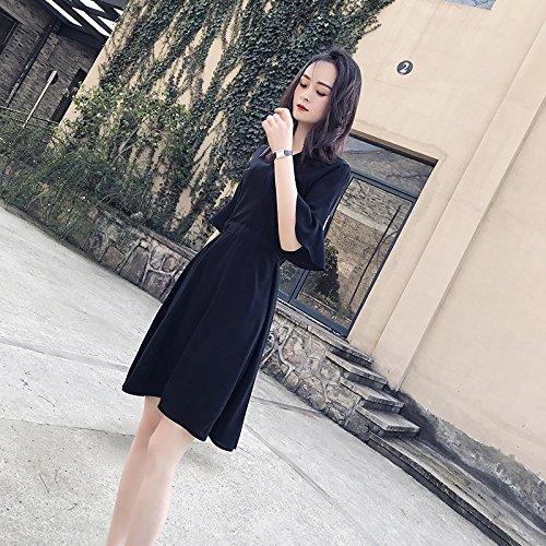 Robe Robes Noire Black MiGMV Noire Hepburn Petite dans M Une Robe qtHH0A