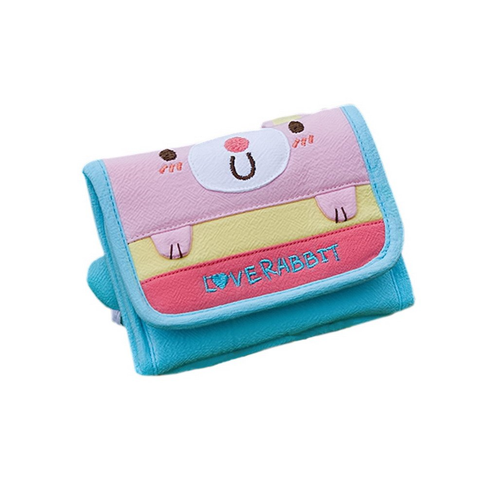 [Love Rabbit] Trifold Wallet Purse (4.53.5)