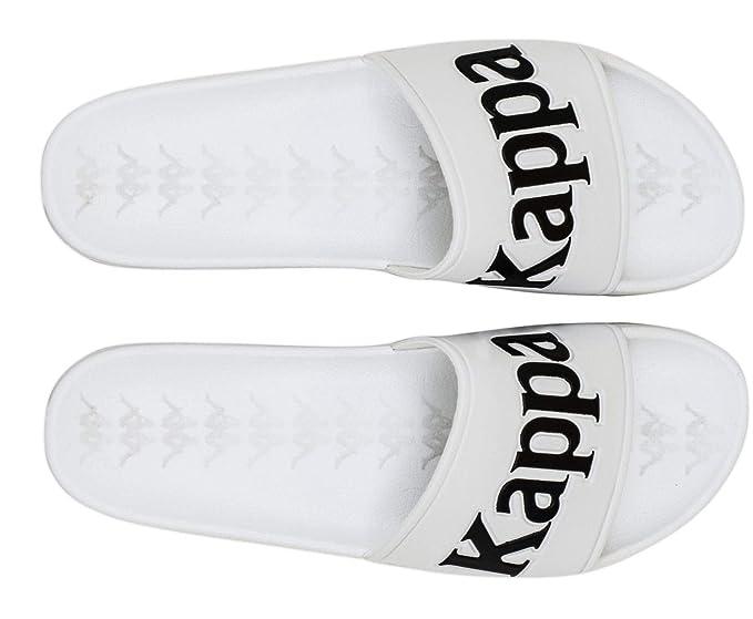 4ad3b2cbb1 Kappa Men's 222 Banda Adam 9 Sliders, White, 9 US
