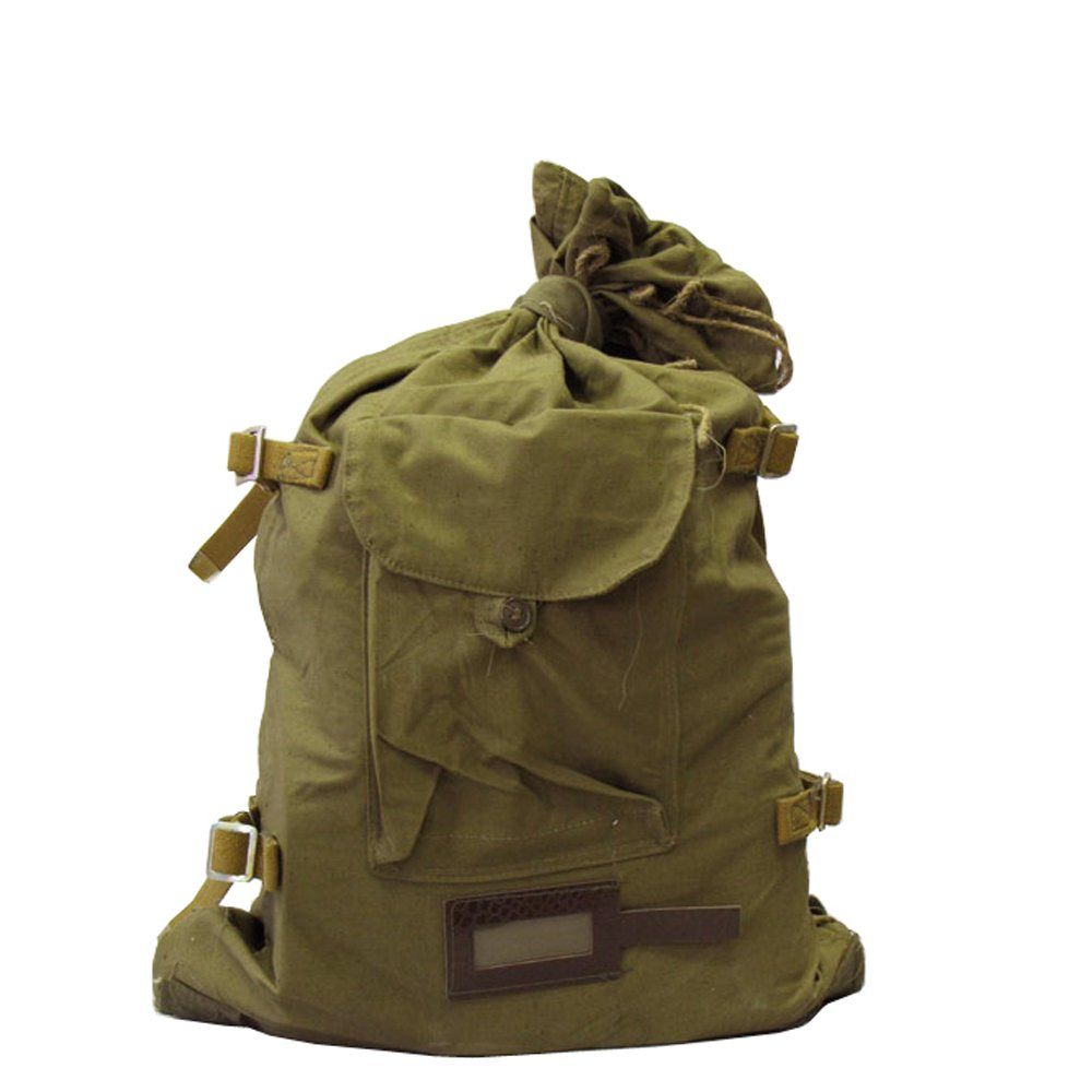 5f175accc7b Ganwear® Genuine USSR Soviet Military Russian Army Backpack Bag Outdoor  Hiking Travel Canvas Rucksack  Amazon.co.uk  Luggage