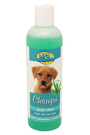 BPS (R) Champú de Aloe Vera para Todo Tipo de Pelo, Shampoo para