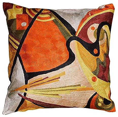 Amazon.com: Kandinsky Accent funda de almohada en el flujo ...