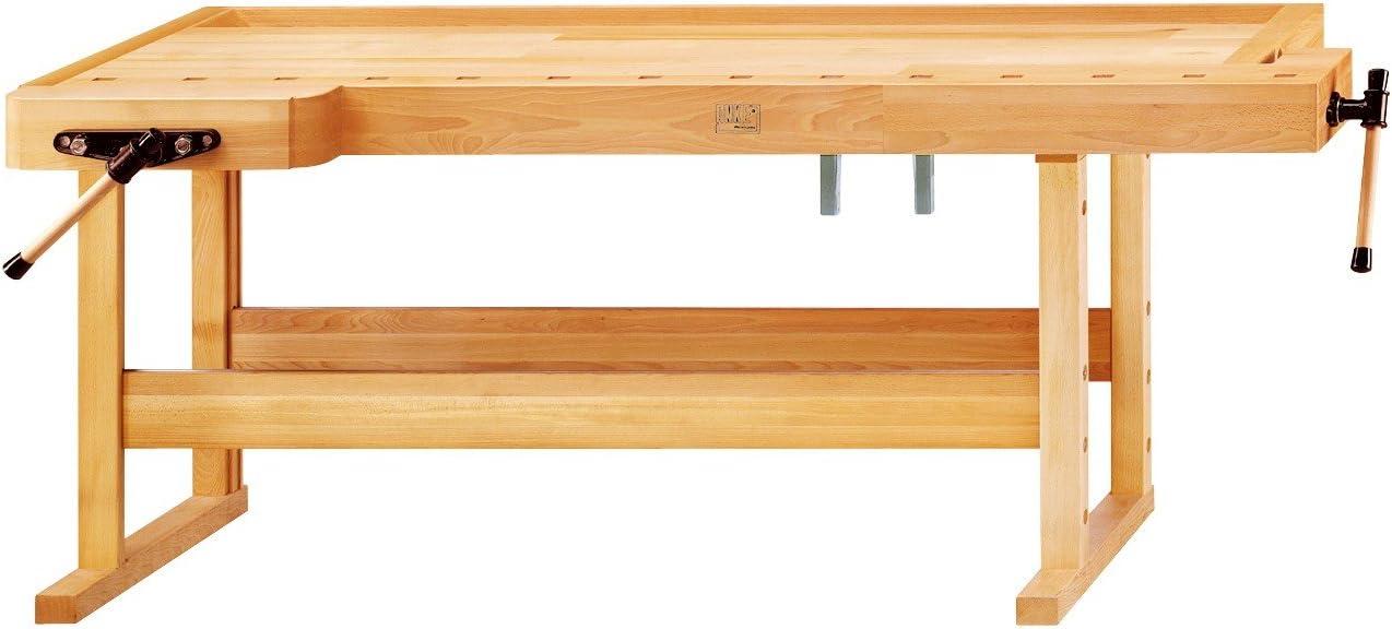 Banco de carpintero para carpintero modelo 3 placas longitud: 2000 ...