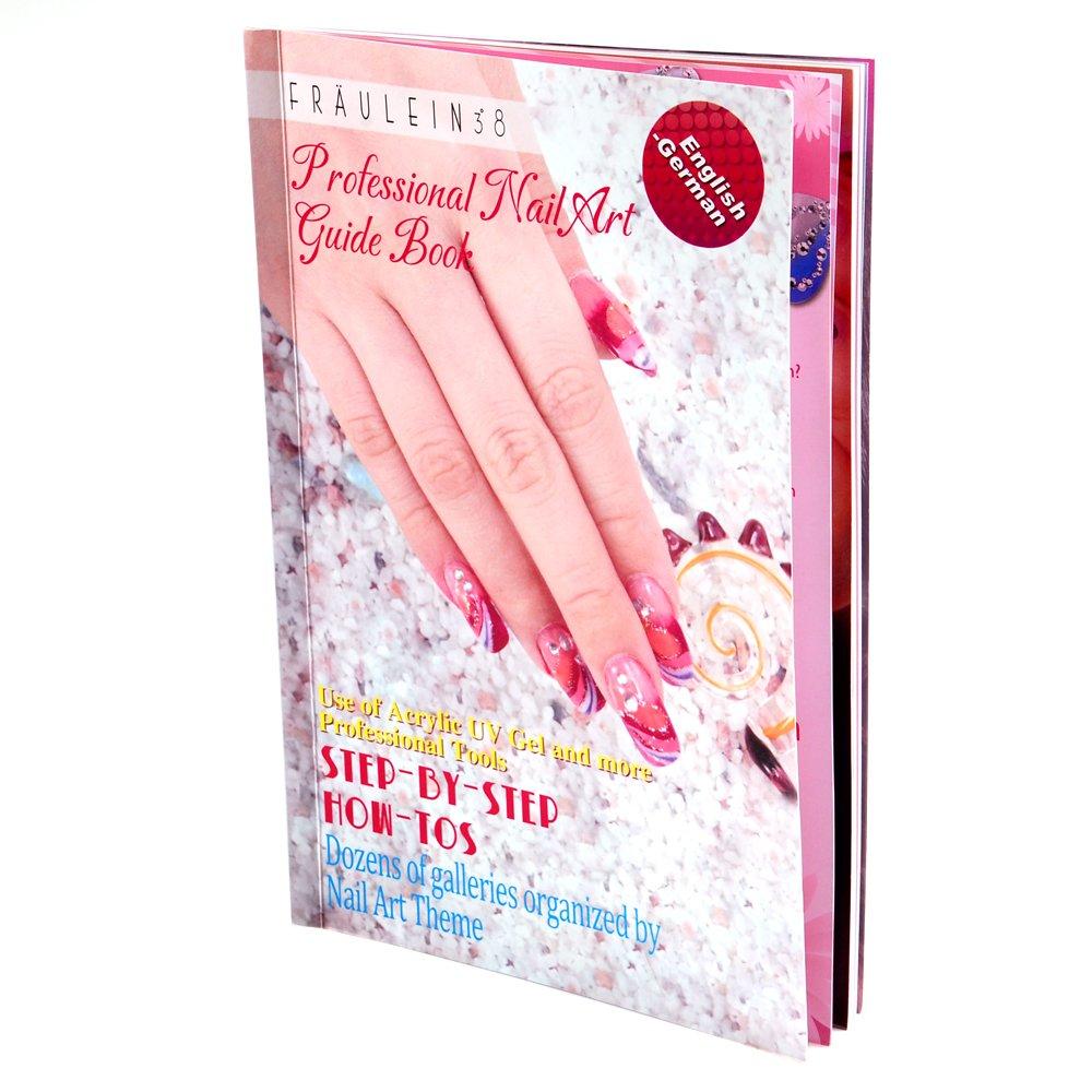 Amazon.com : DIY Nail Art 3D UV Gel Acrylic Nails Glitters Painting ...