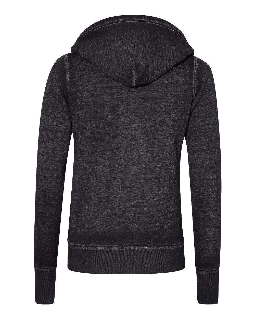 Ladies ZEN Full Zip Hooded Sweatshirt
