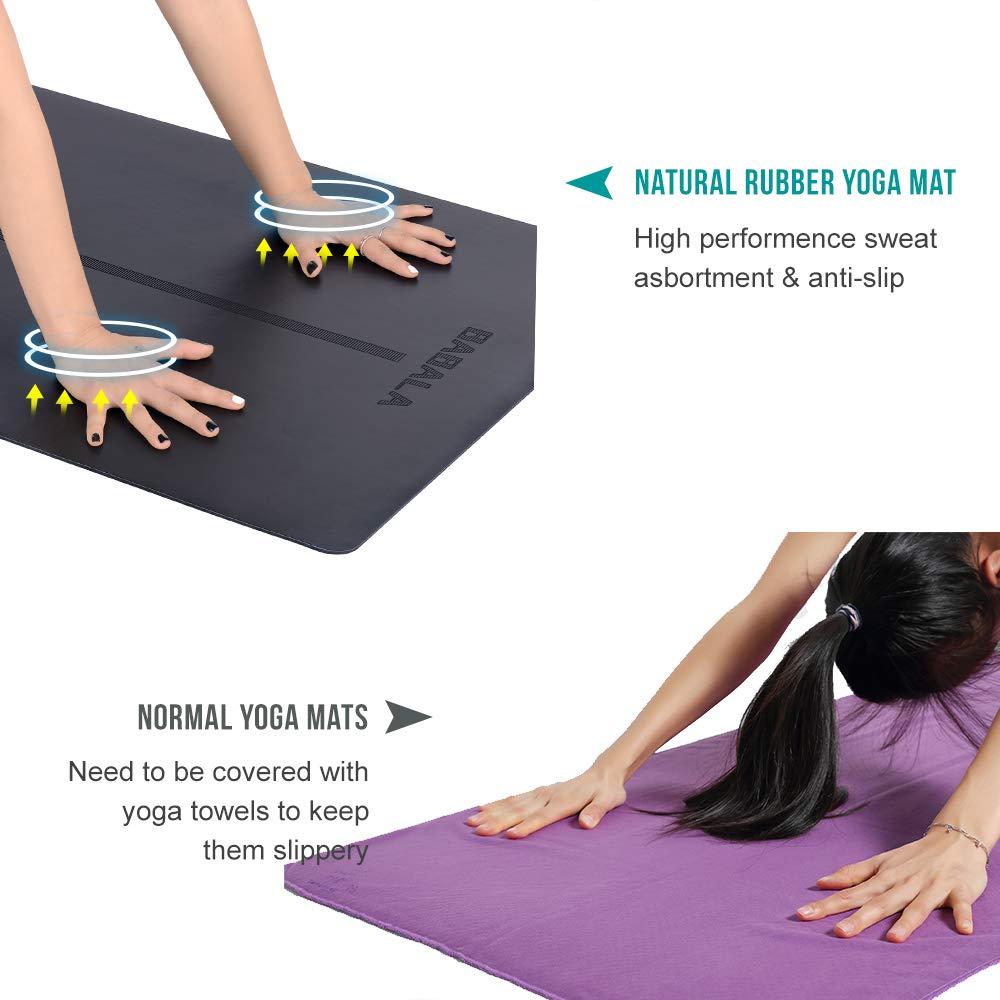 Amazon.com: Alfombrillas de yoga BABALA antideslizantes de ...