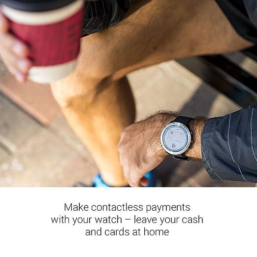 91601293d47 Relógio Esportivo Garmin Forerunner 645 Music Preto 010-01863-20 com GPS e  Monitor Cardíaco  Amazon.com.br  Amazon Moda