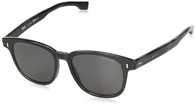 BOSS Hugo 0956/S - Gafas de Sol para Hombre, Gris (Grey Horn ...