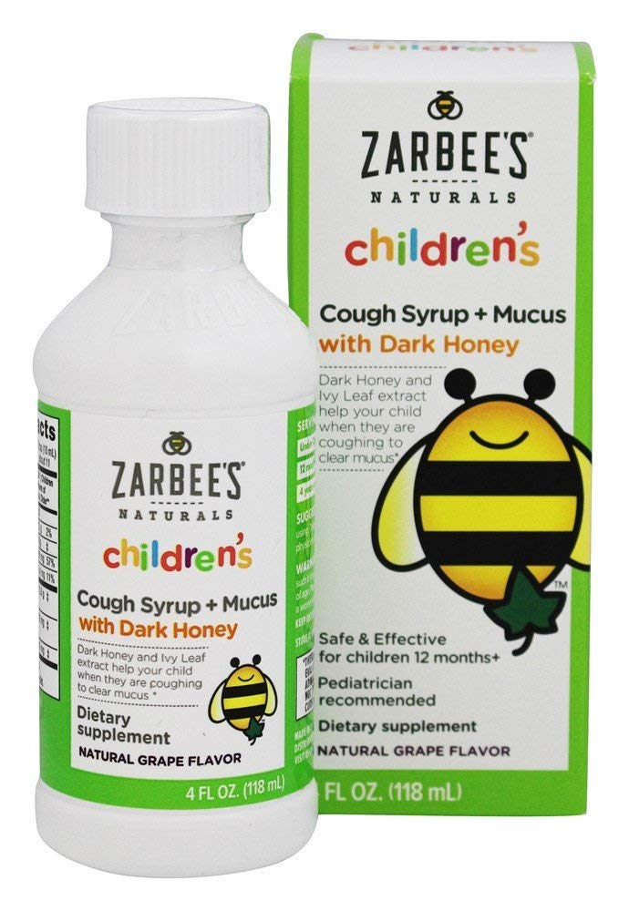 Zarbee's Naturals Children's Cough & Mucus Reducer Syrup (Pack of 36)