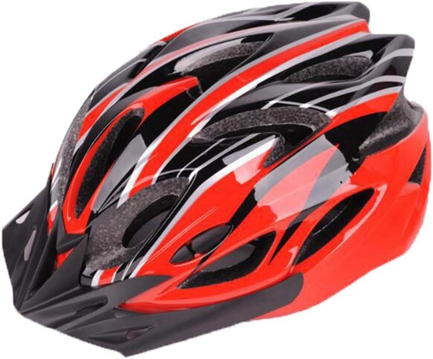 Angyu Durable Alta Resistencia Casco Bicicleta Adulto MTB Casco Visera Extraíble Casco Bicicleta Ajustable para Hombres Mujeres Bicicleta Adultos para Montar
