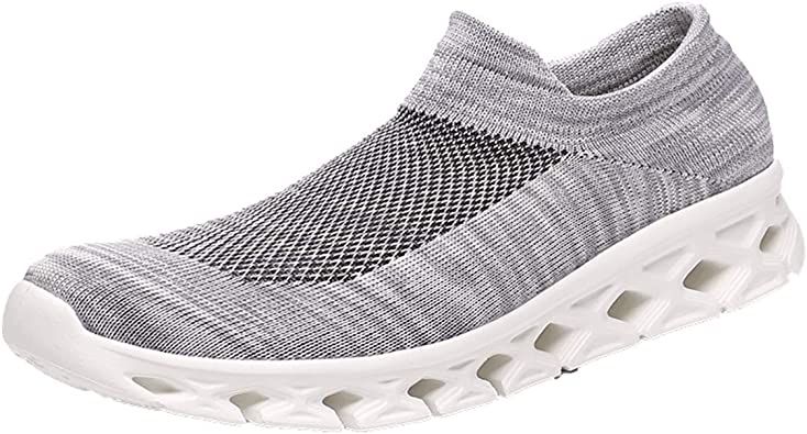 Womens Sports Shoes,Ladies Casual Anti-Slip Sport Walking Sneakers Loafers Soft Shoes Mesh Soft Single Running Shoes