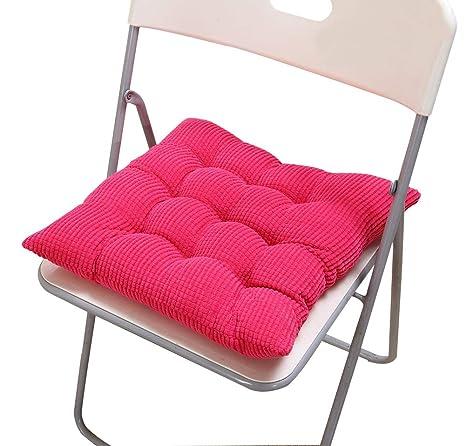 Amazon.com: Almohadilla suave y gruesa para silla de oficina ...