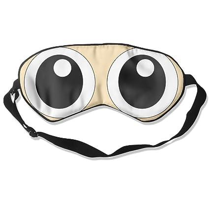 Cómodo antifaz para dormir con diseño de ojos para viajar ...