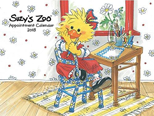Suzy's Zoo - 2018 Appointment Calendar (9x12) (Zoo Calendar Suzys)