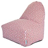 Majestic Home Goods Orange Towers Kick-It Chair