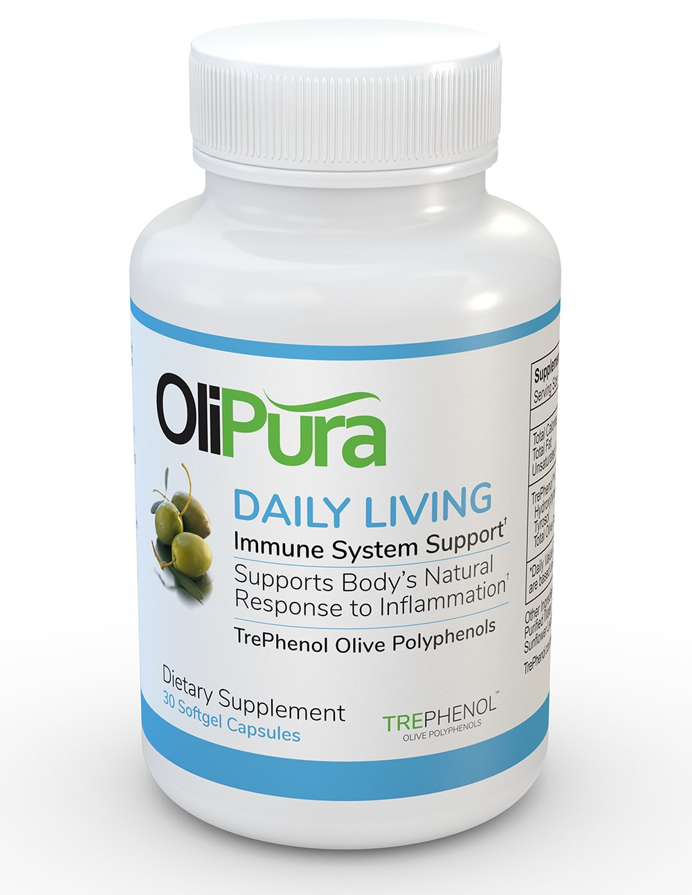 OliPura Daily Living - Olive Polyphenols to Support Body's Natural Response to Inflammation by OliPura by Oliventures
